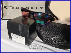 OAKLEY Flak Jacket 2.0 XL OO9188-05 Polished Black withPrizm Golf Sunglasses