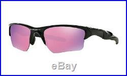 OAKLEY HALF JACKET 2.0 XL Sunglasses OO9154-49 Polished Black With Prizm Golf Lens
