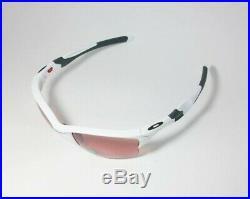 OAKLEY HALF JACKET 2.0 XL Sunglasses OO9154-6362 White Frame With PRIZM Dark Golf