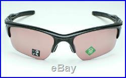 OAKLEY HALF JACKET 2.0 XL Sunglasses OO9154-6462 Black Frame With PRIZM Dark Golf