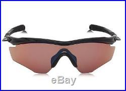 ec32ab36b68 OAKLEY M2 Frame GOLF M 2 SUNGLASSES Polished Black G30 IRIDIUM OO9212-02  NIB NEW