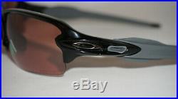 OAKLEY New Sunglasses Flak 2.0 Polished Black Prizm Dark Golf OO9271-3761