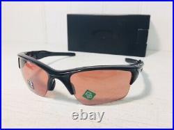 OAKLEY OO9154-64 HALF JACKET 2.0 Polished Blk w Prizm Dark Golf Sport Suns $146