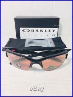 OAKLEY OO9154-64 HALF JACKET 2.0 XL Pol Black w Prizm Dark Golf Sport Suns $146