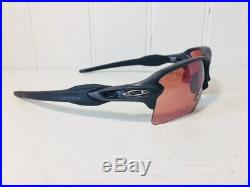 OAKLEY OO9188-B2 FLAK 2.0 XL Steel w Prizm Dark Golf Lenses Sport Suns $176