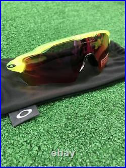 OAKLEY Prizm Road Sunglasses / Yellow + Purple