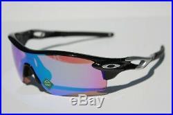 OAKLEY Radarlock Path ASIAN FIT Sunglasses Black/Prizm Golf NEW OO9206-25