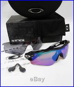 oakley golf sunglasses radarlock  oakley radarlock path polished blk/prizm golf & slate irid sunglasses oo9181 42