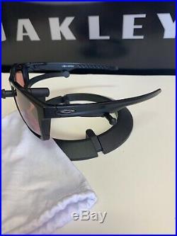 OAKLEY TARGETLINE Sunglasses USA MINT! Matte Black/Prizm Dark Golf OO9397-1058