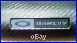 OAKLEY Targetline GOLF SUNGLASSES 100% GENUINE DARK PRIZM GOLF 4 21