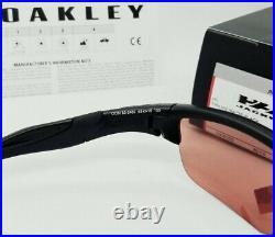 OAKLEY black PRIZM DARK GOLF HALF JACKET 2.0 OO9153-24 (A) sunglasses! NEW