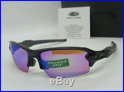 OAKLEY black ink PRIZM GOLF FLAK 2.0 OO9271-05 (AF) sunglasses! NEW IN BOX