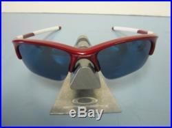 OAKLEY golf fishing HALF JACKET XLJ sunglass TEAM RED/ICE IRIDIUM NEW IN BAG