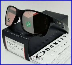 OAKLEY polished black PRIZM DARK GOLF PORTAL X OO9460-0259 sunglasses! NEW