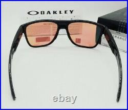 OAKLEY polished black PRIZM GOLF CROSSRANGE XL OO9360-0458 sunglasses! NEW