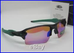 OAKLEY polished black PRIZM GOLF FLAK 2.0 XL OO9188-7059 sunglasses NEW IN BOX