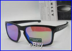 OAKLEY polished black PRIZM GOLF SLIVER OO9262-39 sunglasses! NEW IN BOX