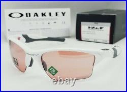 OAKLEY polished white PRIZM DARK GOLF HALF JACKET 2.0 XL OO9154-63 sunglasses