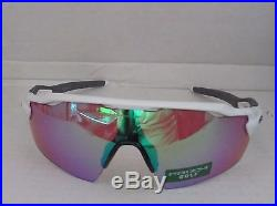 OAKLEY polished white PRIZM GOLF RADAR EV PITCH OO9211-05 sunglasses NEW IN BOX