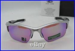 OAKLEY silver PRIZM GOLF HALF JACKET 2.0 XL OO9154-60 sunglasses NEW IN BOX