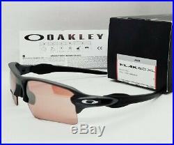 OAKLEY steel PRIZM DARK GOLF FLAK 2.0 XL OO9188-B2 sunglasses NEW IN BOX