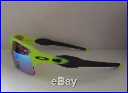OAKLEY uranium PRIZM GOLF FLAK JACKET 2.0 XL OO9188-11 sunglasses! NEW IN BOX