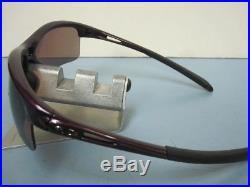 OAKLEY womens RPM Edge Sunglass Raspberry/OO Grey Polarized OO9257-07 New Golf