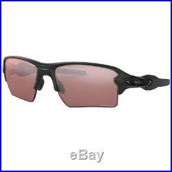 Oakley 2018 Flak 2.0 XL Sunglasses Matte Black/Prizm Dark Golf (9188-90)
