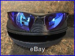 dbf4a0c16d Oakley 24-428 FLAK JACKET XLJ Polished Black Prizm Golf Mens Sports  Sunglasses