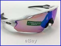 Oakley 9275-12 Radar EV Path Men's White ASIA FIT Sunglasses PRIZM Golf Lens