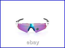 Oakley A Radar Pitch 9275-12 Polished White Prizm Golf Sunglasses Clearance