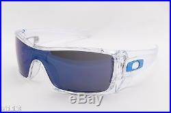 Oakley BATWOLF OO9101-07 Ice Iridium Sports Surfing Cycling Golf Sunglasses