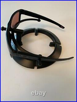 Oakley Crossrange Sunglasses Matte Black With Prizm Dark Golf OO9361-3057