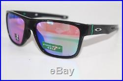 acedcfbedf Oakley Crossrange Sunglasses OO9361-0457 Polished Black Frame With Prizm  Golf Lens