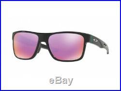 Oakley Crossrange Sunglasses OO9361-0457 Polished Black Prizm Golf Lens