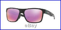 Oakley Crossrange Sunglasses OO9361-0457 Polished Black With PRIZM Golf Lens