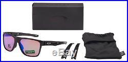 Oakley Crossrange XL Sunglasses OO9360-0458 Polished Black Prizm Golf Lens NIB