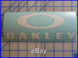 c73fbc69e0 Oakley Decal Sticker 5.5 7.5 11 Sunglasses Golf Vault Polarized Tactical SI