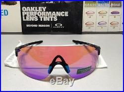 Oakley EVZero Stride Steel Collection with Prizm Golf SKU# 9386-1038 Brand New