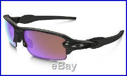 Oakley FLAK 2.0 (Asian Fit) Polished Black PRIZM Golf Sunglasses OO9271-09