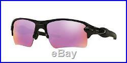 Oakley FLAK 2.0 XL OO 9188 POLISHED BLACK/PRIZM GOLF 59/12/133 unisex Sunglasses