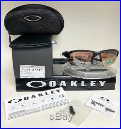 Oakley FLAK DRAFT Sunglasses MATTE BLACK / PRIZM DARK GOLF OO9364-1167
