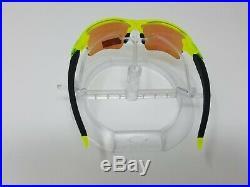 Oakley FLAK JACKET 2.0 Neon Uranium w PRIZM GOLF Lens Sunglass oo9188-11