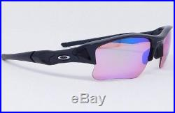 Oakley FLAK JACKET XLJ Sunglasses 24-428 Polished Black with Prizm Golf lenses