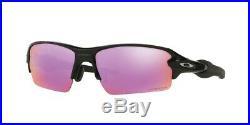 Oakley Flak 2.0 Asia Fit Sunglasses OO9271-09 Polished Black Prizm Golf Lens