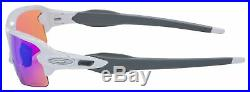 Oakley Flak 2.0 Asia Fit Sunglasses OO9271-10 Polished White Prizm Golf