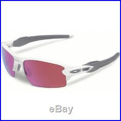 Oakley Flak 2.0 Mens Sunglasses Polished White Prizm Golf One Size