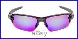 Oakley Flak 2.0 OO9271-05-61 Men's Polished Black/Prizm Golf Sunglasses