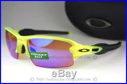 Oakley Flak 2.0 Sunglasses OO9271-08 Neon Uranium Frame With Prizm Golf Iridium