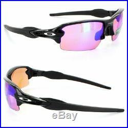 Oakley Flak 2.0 Sunglasses OO9271-09 Polished Black Frame WithPRIZM Golf Lens (AF)